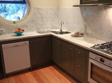 Cottage's designer kitchen