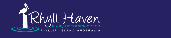 Rhyll Haven - luxury accommodation - logo - Phillip Island Australia